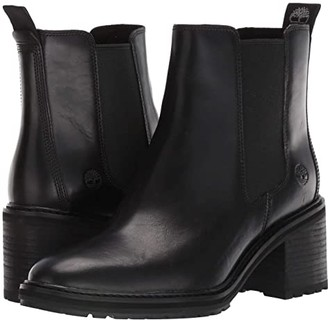 Timberland Sienna High Chelsea (Dark Brown Full Grain Leather) Women's Boots