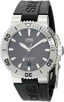 Oris Men's 73376534153RS Divers Analog Display Swiss Automatic Black Watch