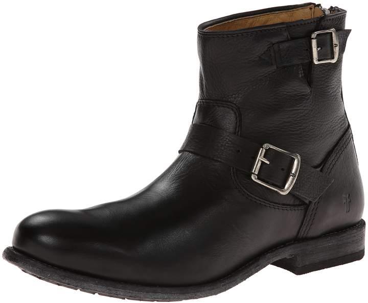 Frye Men's Tyler Engineer Boot,Black
