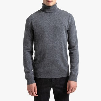 La Redoute Collections Cashmere Roll Neck Jumper
