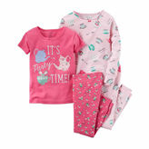 Carter's 4-pc. Short Sleeve-Preschool Girls