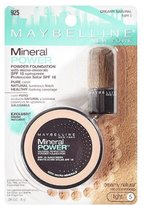 Maybelline New York Mineral Power Powder Foundation, Creamy Natural, Light 5, 0.28 Ounce
