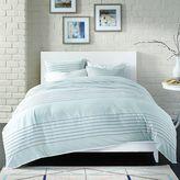 Bedwear Live Comfy Spa Stripe 3-Piece Comforter Set in Blue