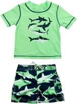 Carter's Toddler Boys' Shark Rash Guard Swim Set
