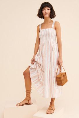 Steele Lovelle Striped Midi Dress
