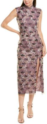 Anna Sui Iris Sheath Dress