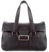 Jil Sander Pebbled Leather Bag