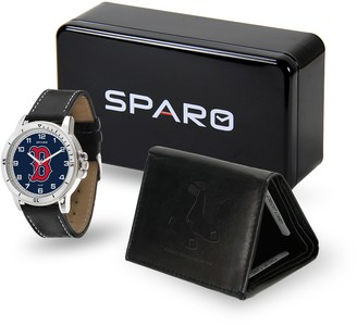 NCAA Sparo Boston Red Sox Watch and Wallet Set