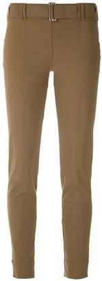 Gloria Coelho Belted Cropped Trousers