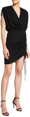 Cdgny Lori Side-Ruched Cocktail Dress