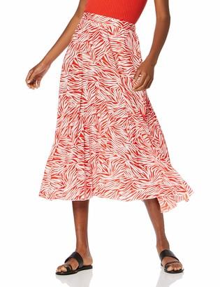 New Look Women's Gem Zebra Skirt