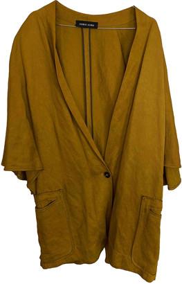 Damir Doma Gold Viscose Jackets