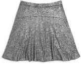 Aqua Girls' Oilslick Flippy Skirt - Sizes S-XL - 100% Exclusive