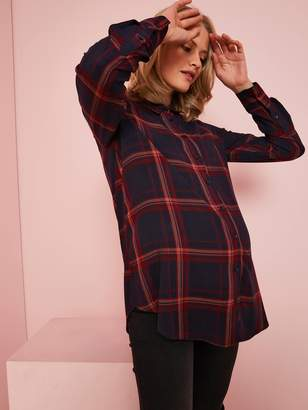 Vertbaudet Checked Shirt for Maternity