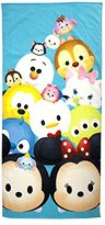 Disney Tsum Tsum 'Stacks on Stacks' Cotton Bath/Beach/Pool Towel