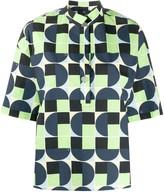 Fay Geometric Print Shirt