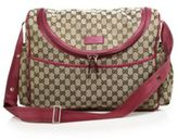 Gucci GG Supreme Canvas Diaper Bag
