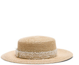 Eugenia Kim Brigitte Hat in Neutrals.