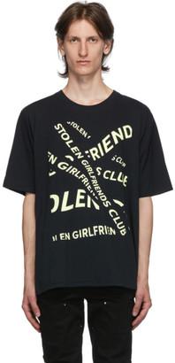 Stolen Girlfriends Club Black Banner T-Shirt