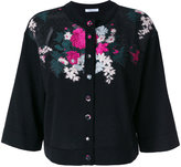 Blumarine floral embroidered cardigan