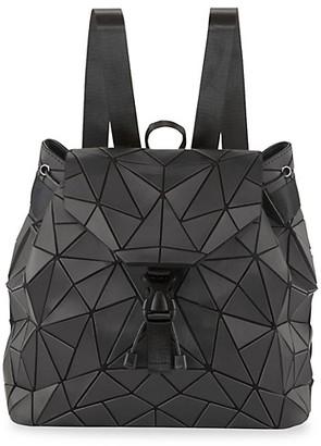 Patrizia Luca Triangle Geometric Faux Leather Backpack