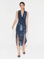 Halston Printed Tunic Dress