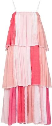 Lemlem Eshal tiered maxi dress