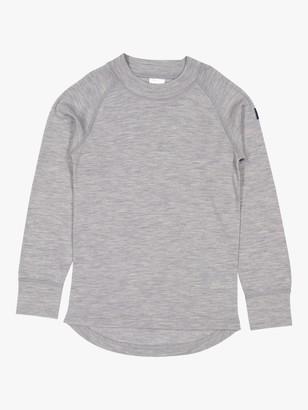 Polarn O. Pyret Children's Merino Wool Long Sleeve Top