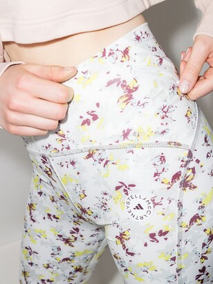 adidas by Stella McCartney TruePurpose Floral Print Cycling Shorts