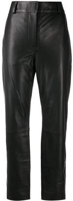 Haider Ackermann high-waist biker trousers