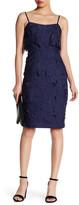 Black Halo Ora Crochet Sheath Dress