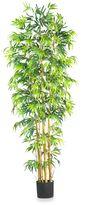 Bed Bath & Beyond Nearly Natural 7-Foot Multi-Bambusa Bamboo Silk Tree