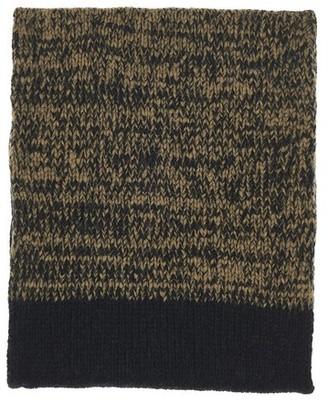 Dries Van Noten Bicolore tubular scarf