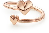 Alex and Ani Romance Heart Ring Wrap