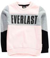 Everlast Kids Girls Crew Sweater Jumper Pullover Long Sleeve Short Neck