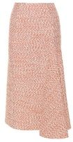Victoria Beckham Tweed pencil skirt