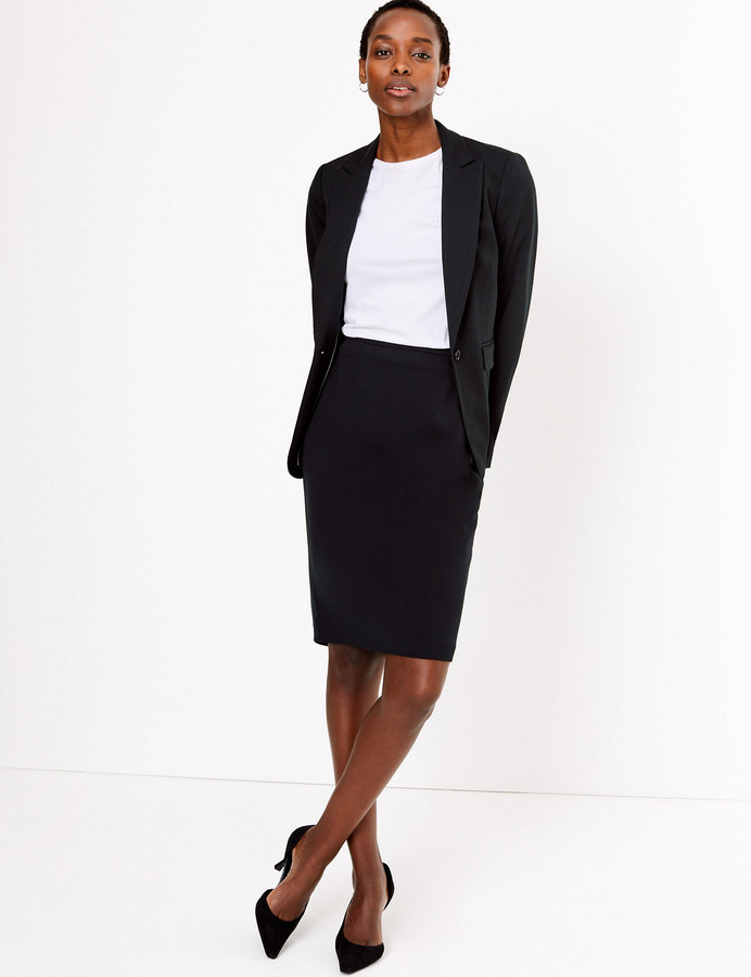 Marks and Spencer Tailored Pencil Skirt