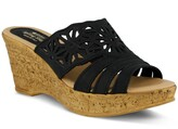 Spring Step Dora Platform Wedge Slide Sandal