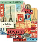 Cavallini & Co. Paris 4x5 5, 3 Mini Notebooks