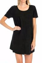 Olivaceous Black Vegan Dress
