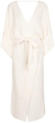 Roland Mouret Lashford stretch-crApe midi dress