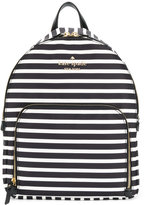 Kate Spade striped backpack - women - Polyester - One Size