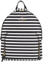 Kate Spade striped backpack
