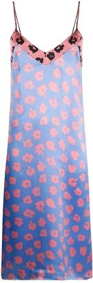Equipment Floral-Print Slip Dress