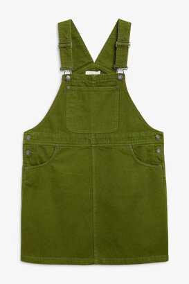 Monki Denim dungaree dress