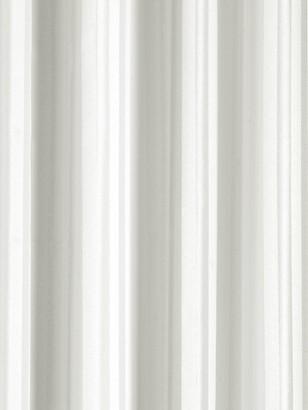 Croydex Plain Textile Shower Curtain White