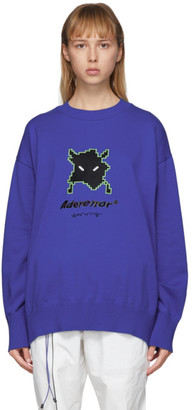 Ader Error Blue Vader Sweater