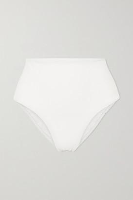 Matteau Net Sustain Crinkled Bikini Briefs - Off-white