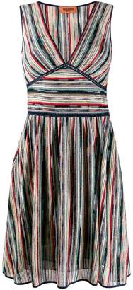 Missoni knitted V-neck dress
