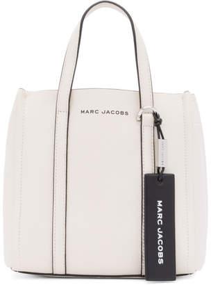 Marc Jacobs White The Mini Tag Tote